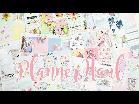 Planner Haul! Spring & Summer Stickers