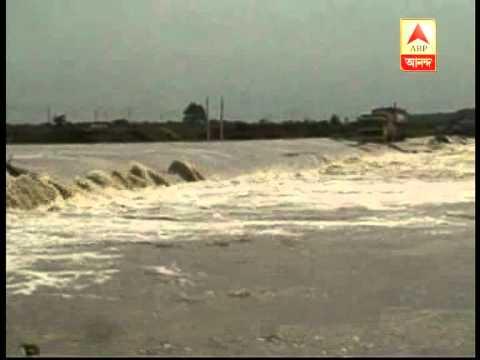 River overflowed in Birbhum District