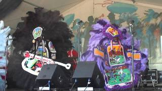 "Red Hawk Mardi Gras Indians ""Indian Red"""