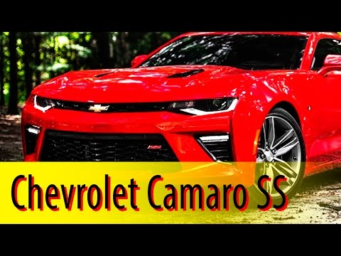 2016 Chevrolet Camaro Review of Muscle Car: Overview - 2016 Chevrolet Camaro Interior & Exterior
