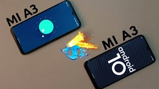 Mi A3 Android 11 VS Mi A3 Android 10 Speed Test 😮