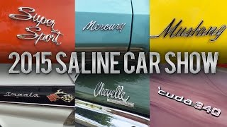 Car Logos, Badges, & Emblems (Montage) - Saline Car Show 2015