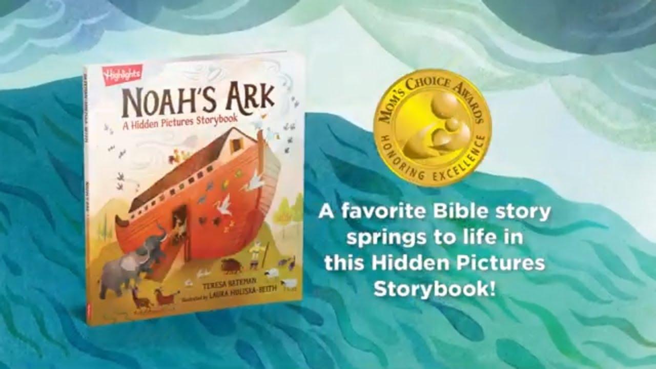 Noah's Ark | A Hidden Pictures Story Book | Highlights
