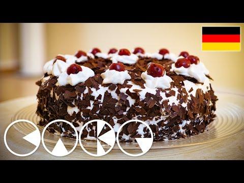 SCHWARZWÄLDER KIRSCHTORTE Rezept in 4K (Ultra-HD)