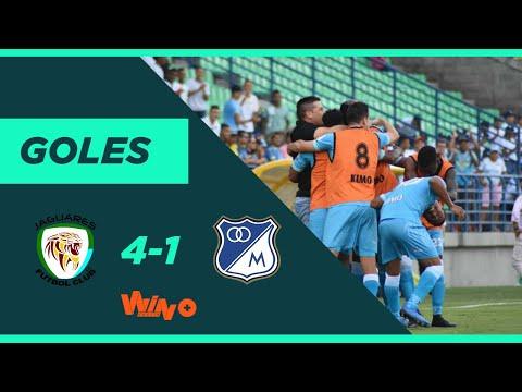 Jaguares vs. Millonarios (4-1) Liga BetPlay Dimayor 2020-1 | fecha 4
