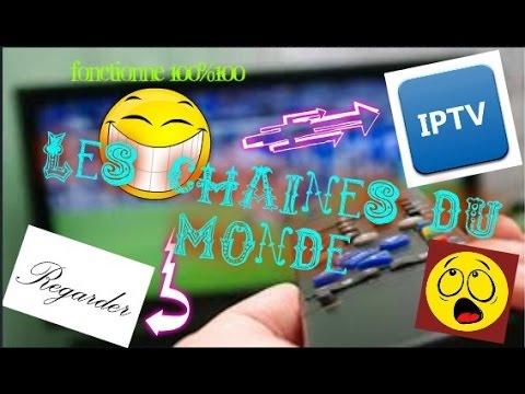 Comment regarder les chaines du monde entier!(télé français,anglais,Biensport...)[IPTV]sur ton tel!