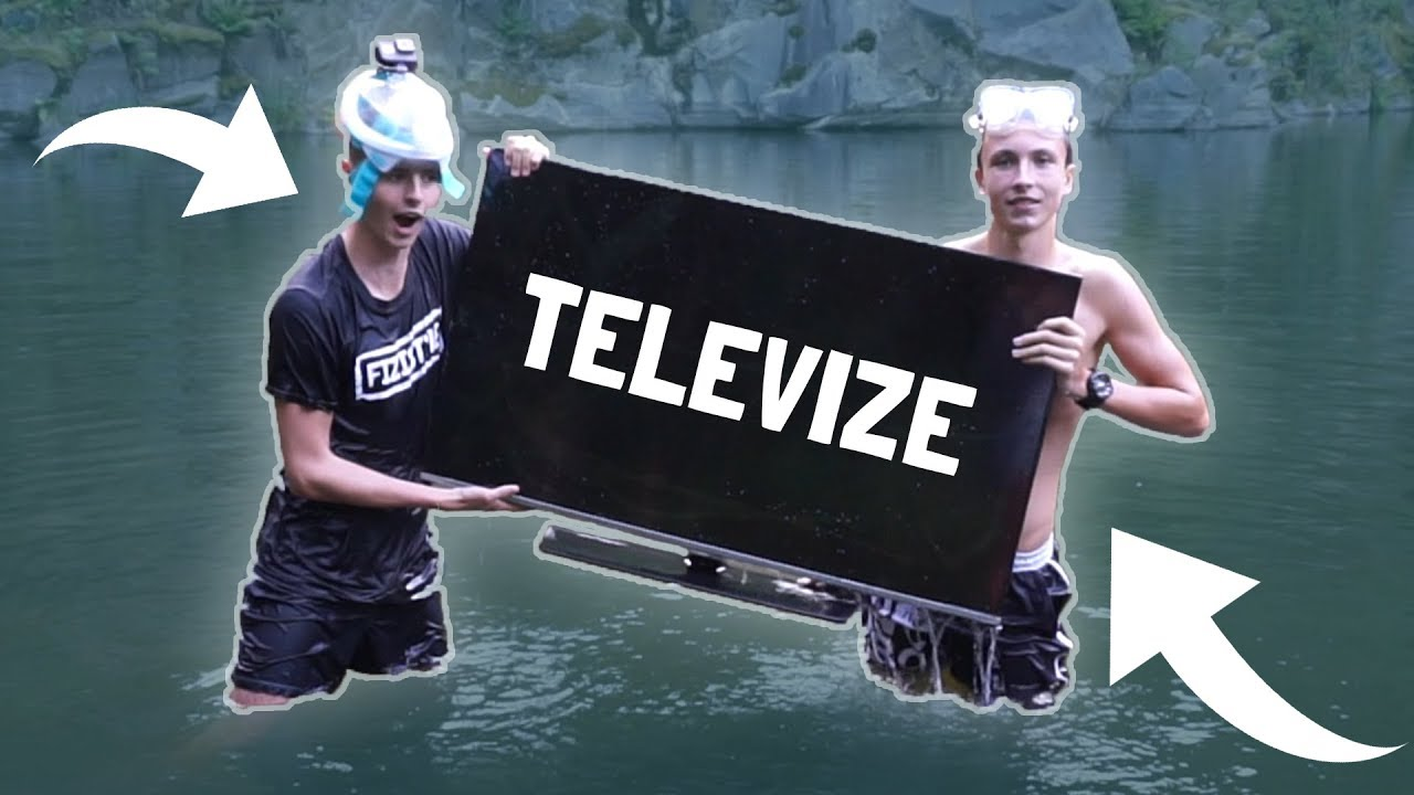 VYLOVILI JSME PLAZMOVOU TELEVIZI! 😱 **šílené**