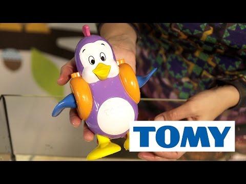 TOMY Pluskający Pingwinek, Zabawka Do Kąpieli