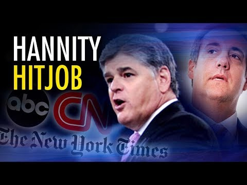 CNN & NYT lawyer convinced judge to name Hannity as Cohen's client