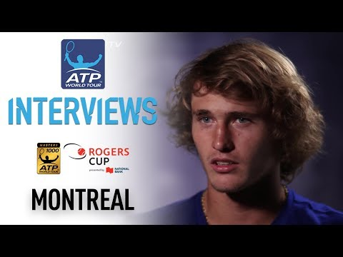 Zverev Grows In Confidence Montreal 2017