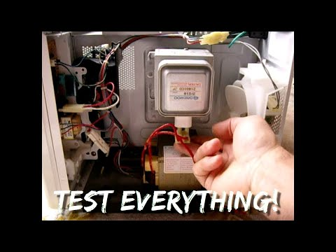 Microwave Oven Troubleshooting in MINUTES ~ STEP BY STEP