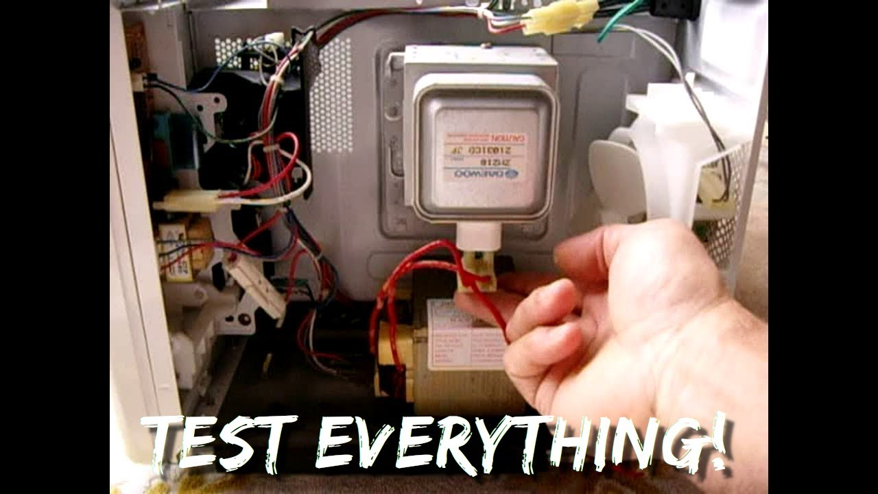 Microwave Oven Troubleshooting In Minutes Step By Youtube Wiring Diagram For Dacor