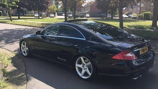 Mercedes Benz CLS 55 AMG - Sound and Acceleration 0-100