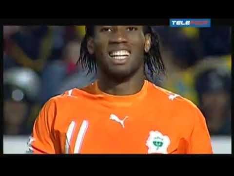 Finale Can 2006   Egypte - Cote D'ivoire Avec Thierry Gilardi En Commantaire