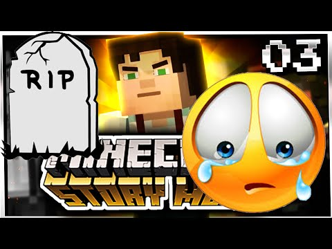 Minecraft STORY MODE Lets Play - DYING FOR US!! - Episode 3 ( Minecraft Gameplay )