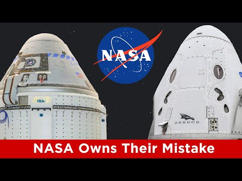 NASA Admits they Favored Boeing over SpaceX