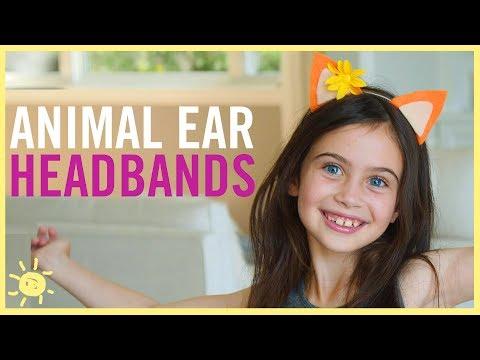 DIY | Animal Ear Headbands feat. Enchantimals!