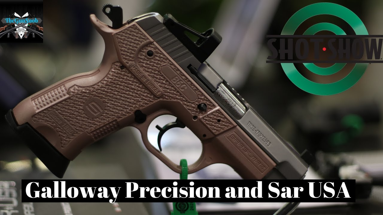 New From Galloway Precision and Sar USA from SHOT Show 2020