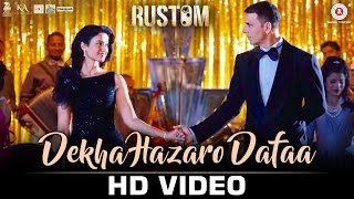 Download Hindi Video Songs - Dekha Hazaro Dafaa - Rustom  | Akshay Kumar & Ileana D'cruz | Arijit Singh & Palak Muchhal