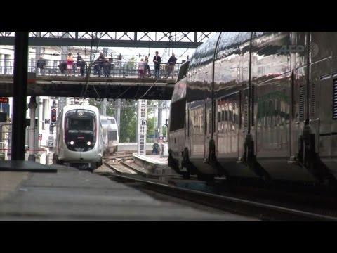 Inauguration du nouveau TGV entre Paris et Bordeaux