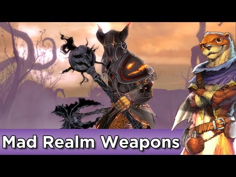Mad Realm Weapons Set Preview ► Guild Wars 2 thumbnail