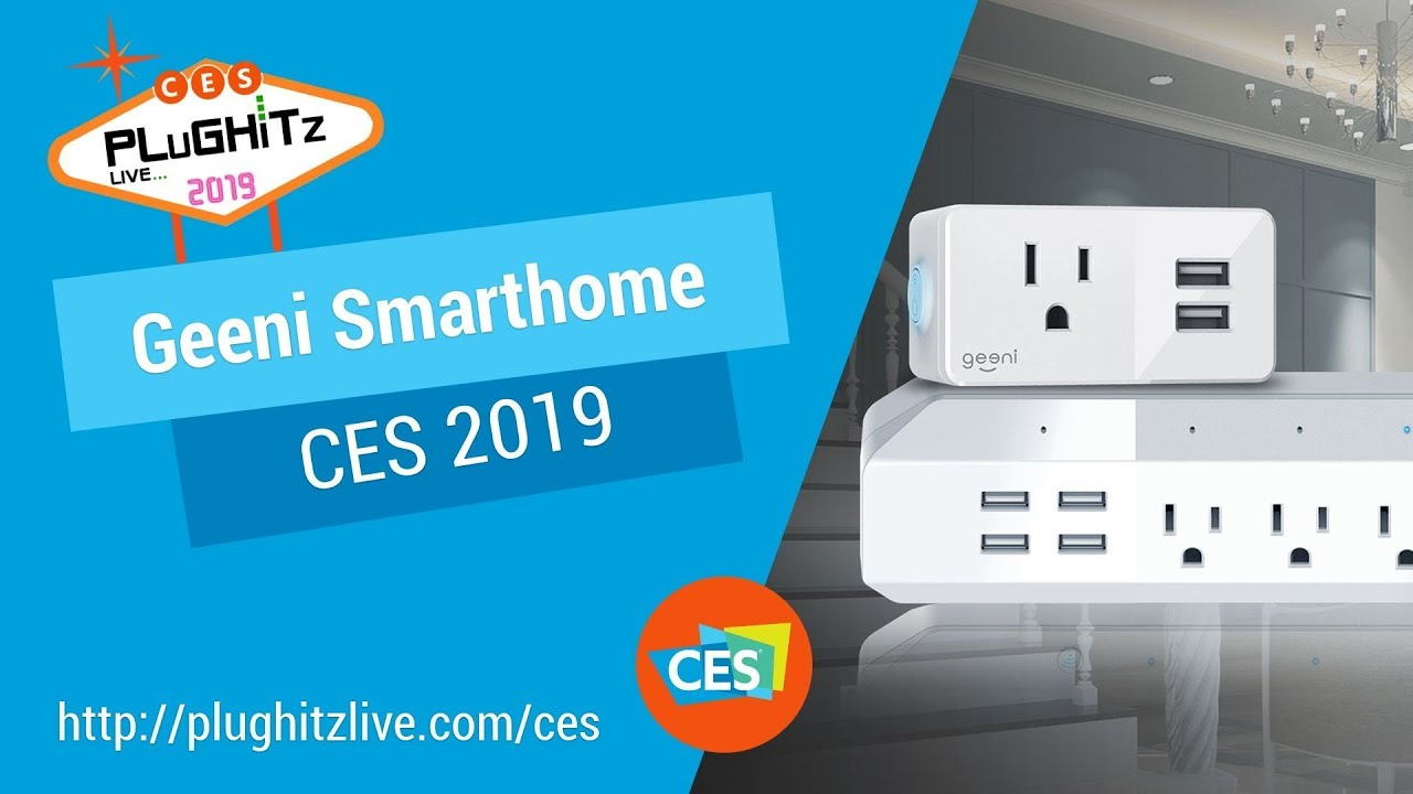 Geeni has the products to give you the smart home you've been wanting @ CES  2019