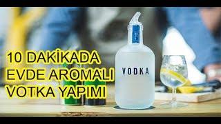 Evde Votka Yapımı (Aromalı Votka)