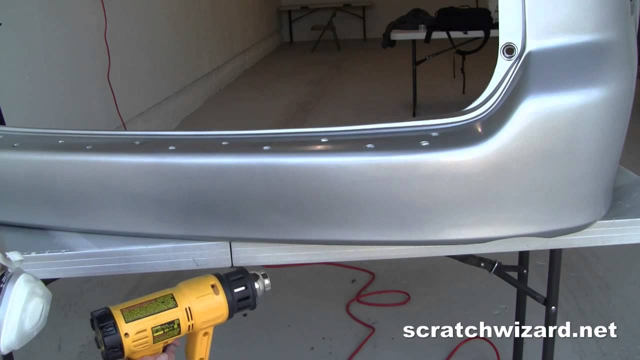 How to Paint and Install a Plastic Bumper Cover (Spray Paint ...