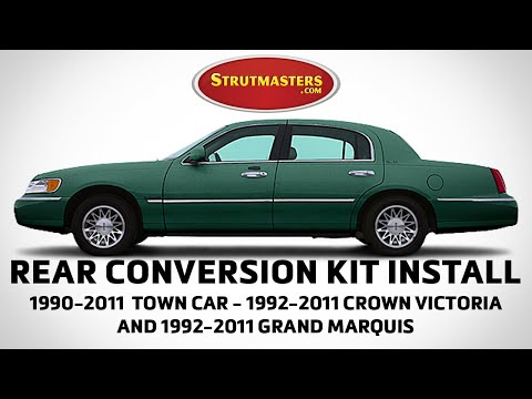 Sam Memmolo Shows How To Fix The Rear Suspension On A Lincoln Town