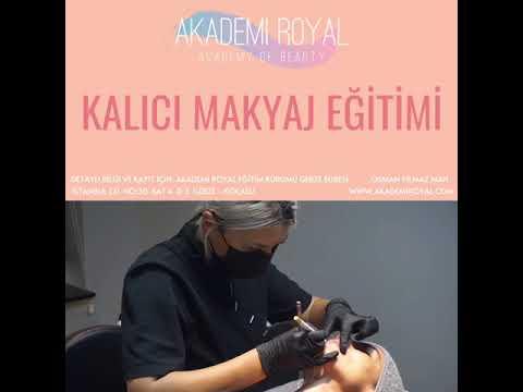Akademi Royal Gebze Şubesi / Kalıcı Makyaj Kursu / 0850 302 81 35