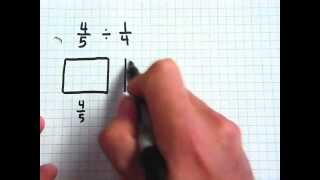 Dividing Fractions with Fraction Models