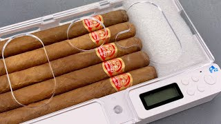 [1192] Cuban Cigars Secured In An Electronic Smartphone Locker