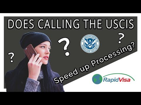 Does Calling The USCIS Help Speed Up The Process?