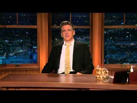 Late Late Show with Craig Ferguson 5/18/2010 Jon Favreau, Jakob Dylan