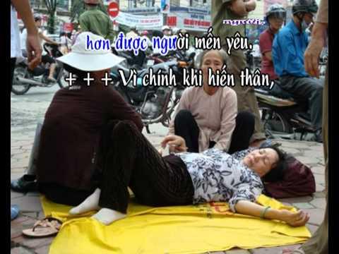Kinh Hoa Bình - karaoke playback - http://songvui.org