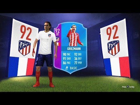INSANE 92 RATED SBC GRIEZMANN! - FIFA 18 Ultimate Team