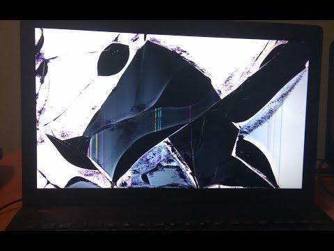 разбил экран на ноутбуке что делать или замена матрицы ноутбука    Asus X551ma