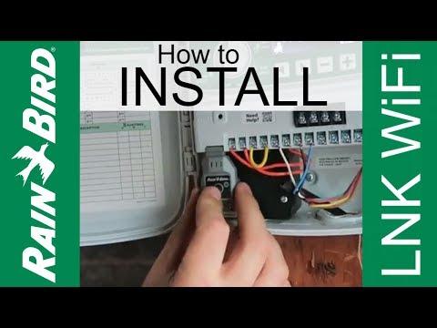 Rainbird LNK WiFi Install