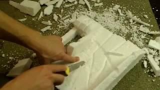 Как сделать задний фон для аквариума своими руками. Видео №2(Наш сайт http://www.diyaquarium.ru/ Группа vk