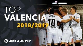 TOP Goles Valencia CF LaLiga Santander 2018/2019: