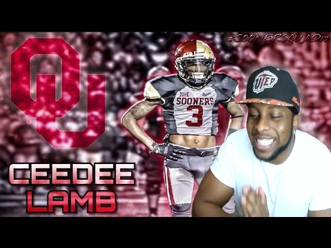 SUBSCRIBER MAKES 1 HANDED CATCH -COMMITTED TO OKLAHOMA - CRAZY SKILLS (CEDARIAN LAMB HIGHLIGHTS)