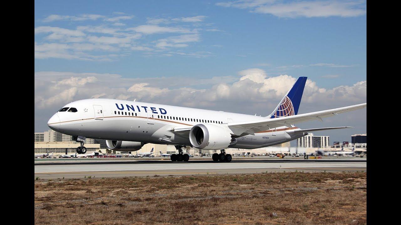 United Airlines Boeing 787-8 Dreamliner - 160.7KB