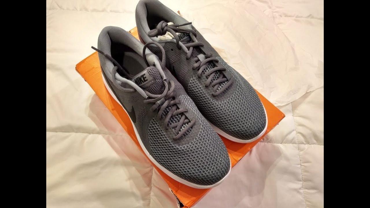 03efb3ab3e45 Nike Revolution 4 Men s Running Shoes Unboxing + Try on - YouTube