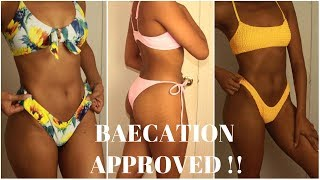 Zaful bikini Try on haul Honest Review Baecation ready Darcia Dorilas