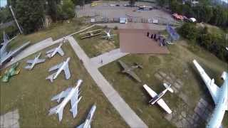 Музей авиации с высоты.(С разрешения, на входе и без широкого облета., 2015-07-31T09:36:10.000Z)