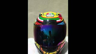 agv corsa k3 k5 rossi element motorcycle full face helmet