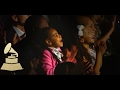 jay z blue ivy react to beyonce performance audience cam 59th grammys