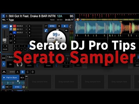 Serato DJ Pro Tips: Serato Sampler