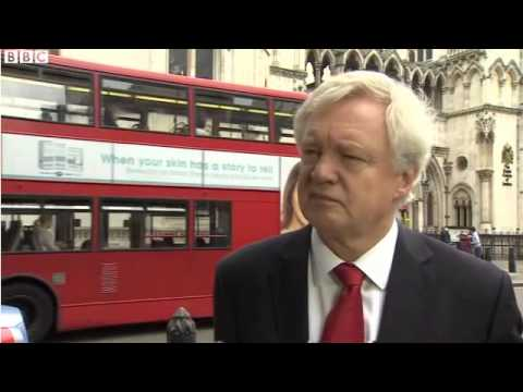 David Davis wins judicial review against the Government striking down DRIPA