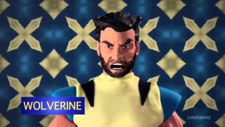 Robot Chicken Season 8 Episode 8 - Luke Evans